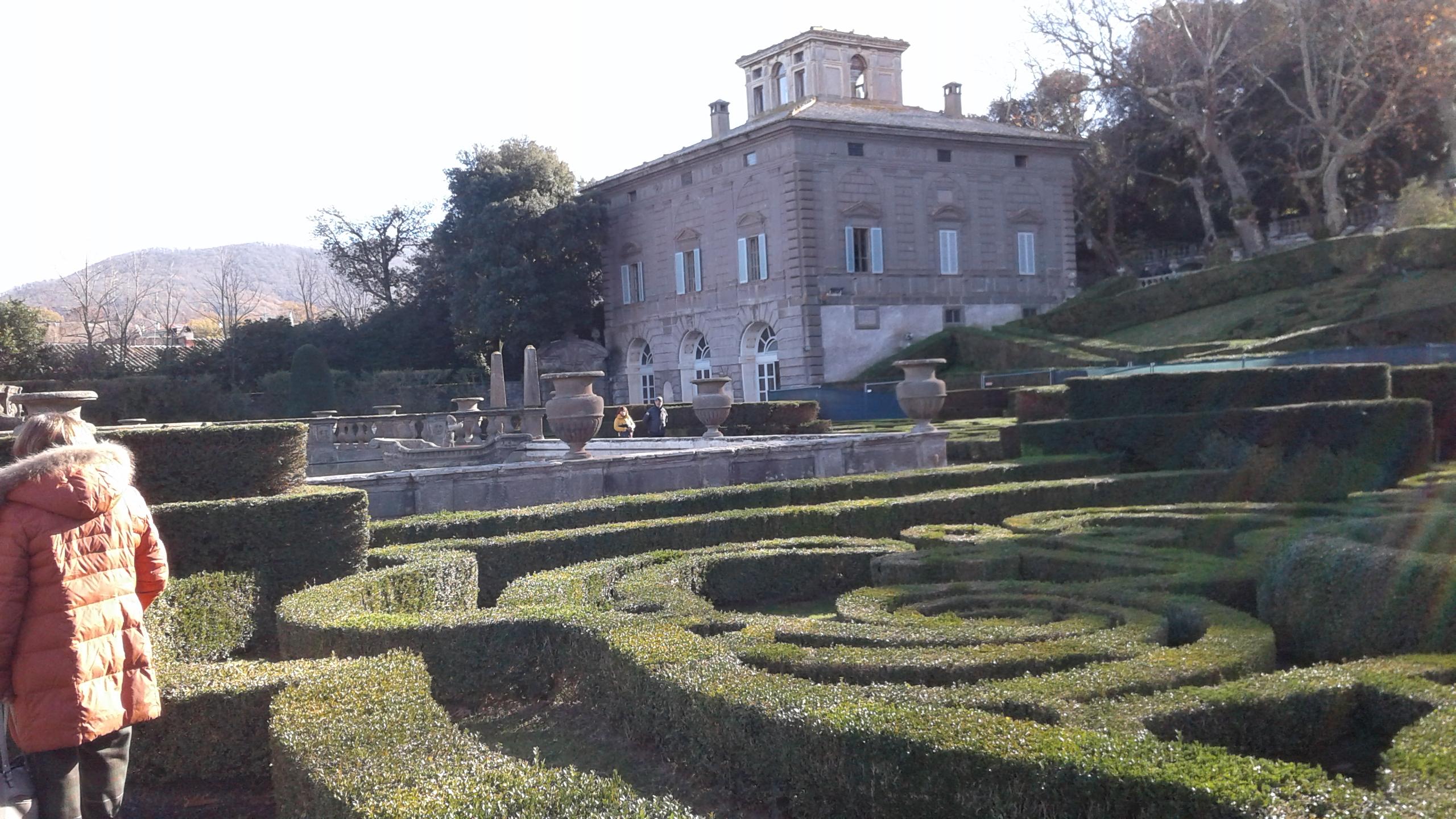 Giardini all'italiana di villa Lante