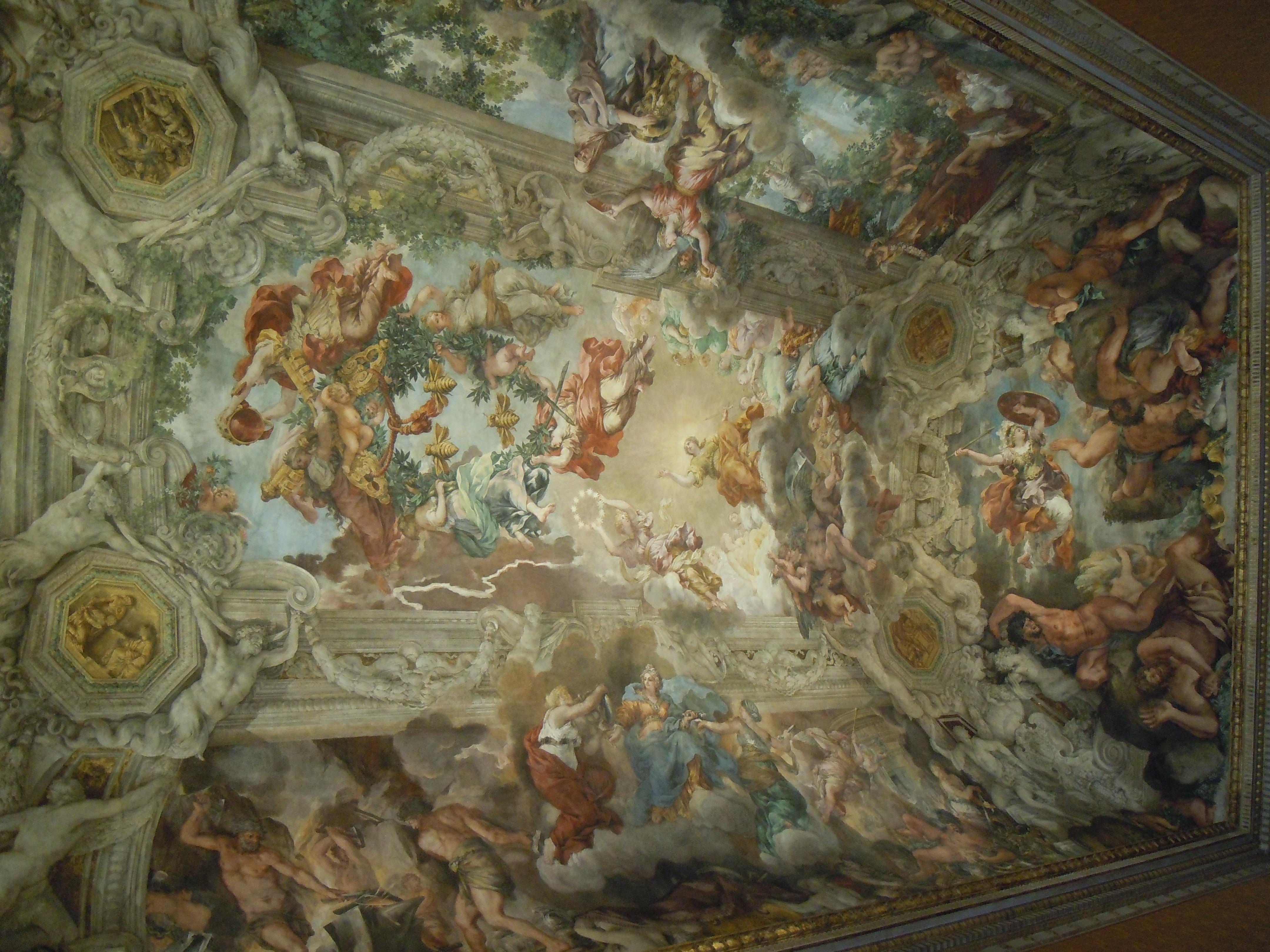 Palazzo Barberini- soffitto salone delle feste