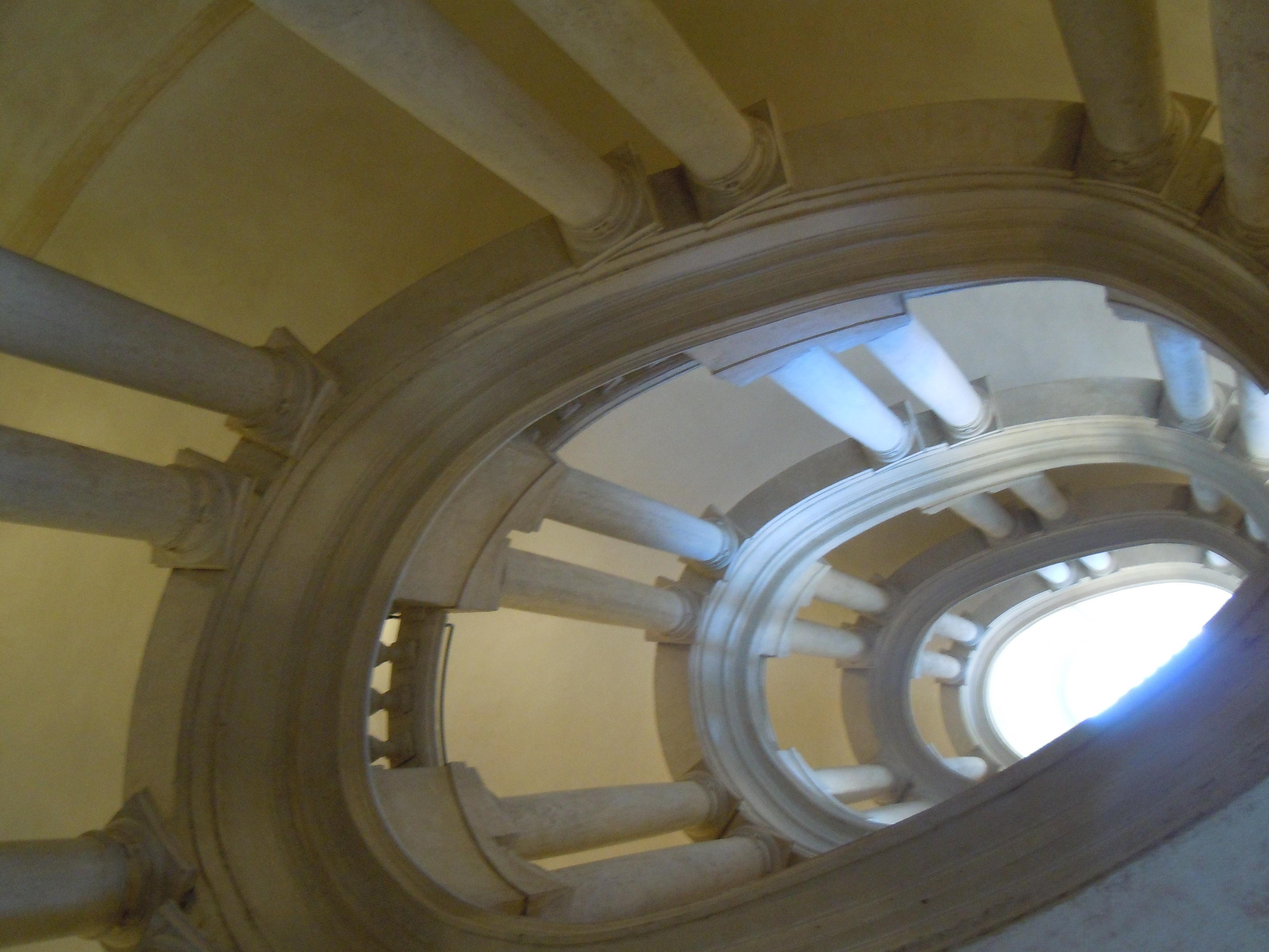 Scalinata ovale del Borromini