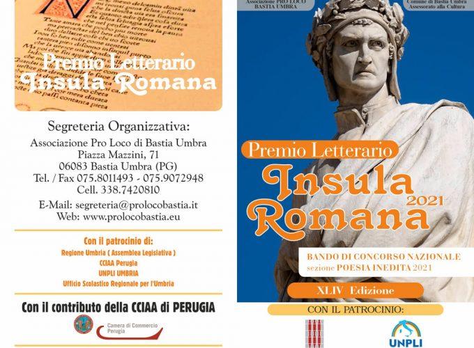 Bando Premio Insula Romana 2021